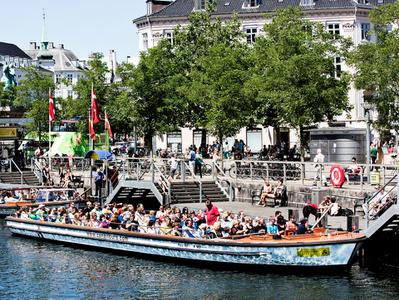 Guided Grand Tour of Copenhagen by Boat with Tivoli Gardens Visit