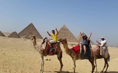 Pyramids and Al Azhar Park Private Tour