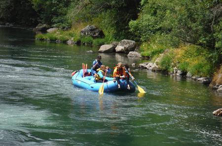 North Santiam Whitewater Rafting Day Trip