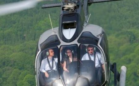 40-Minute Helicopter Flight over Bran and Peles Castles