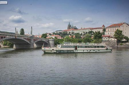Vltava River Sightseeing Cruise in Prague