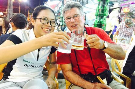 Private Night Tour: Saigon Food Adventure By Motorbike