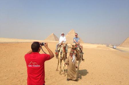 Full-Day Tour from Cairo: Giza Pyramids Sphinx Memphis and Sakkara
