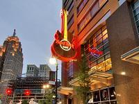 Hard Rock Cafe Detroit Lunch or Dinner