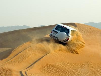 Dubai Desert Conservation Reserve Sunset Safari with Arabic-Style Buffet and Unlimited Drinks