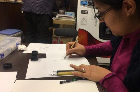 Manga Drawing Lesson in Nagoya