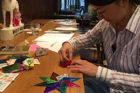 Origami Lessons in Nagoya