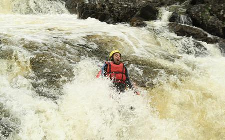 Half-Day River Bug Rafting Adventure in Aberfeldy