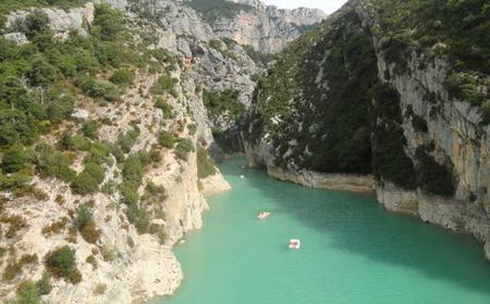 Aix-en-Provence: Verdon Canyon & Moustiers-Sainte-Marie