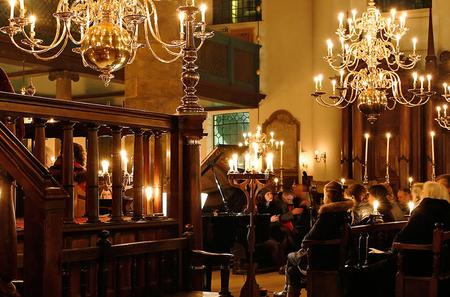 Candlelight Concerts at the Portuguese Synagogue in Amsterdam