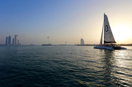 Abu Dhabi Catamaran Sunset Cruise
