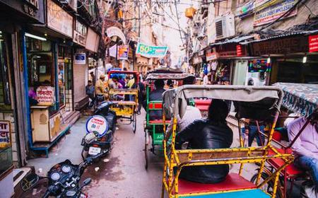 New Delhi: 3-Hour Spice Market Tour of Old Delhi