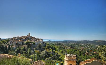From Nice: Half-Day Saint Paul de Vence & Wine Tasting