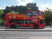 City Sightseeing Edinburgh Hop On Hop Off Tour