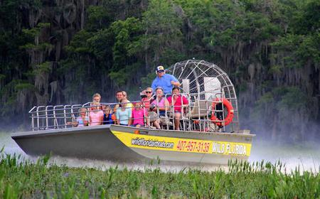 30 Minute Airboat Tour & Wildlife Park Admission
