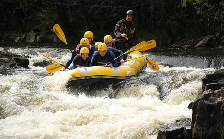 Perthshire: Splash White Water Rafting & Canyoning Adventure