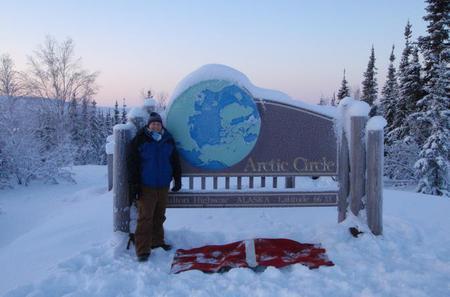 Arctic Circle Winter Drive