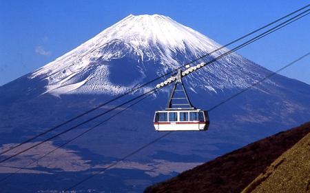 Mt Fuji & Hakone Day Trip by Motor Coach from Tokyo