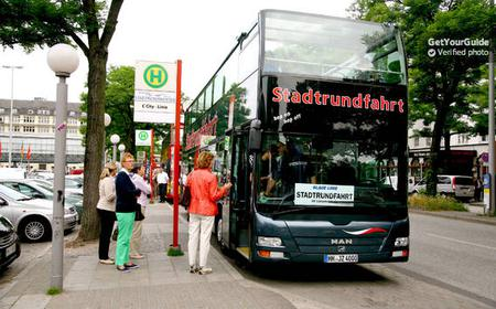 City Tour of Hamburg with Hop-On, Hop-Off Ticket