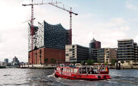 Hamburg: 1-Day Hop-on Hop-off Harbor Cruise