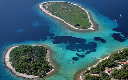 Blue Lagoon Three Island Cruise from Trogir