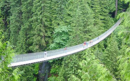 Half-Day Vancouver + Capilano Suspension Bridge