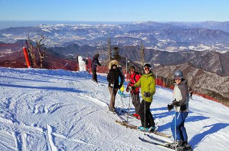 Snow or Ski Day Trip to Yongpyong or Phoenix Park Resort from Seoul