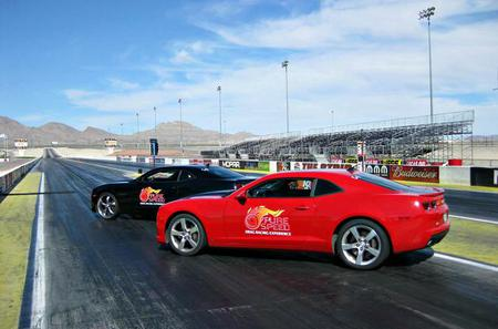 Side by Side Camaro Competition at Atlanta Dragway