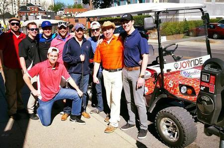 Bar Golf Game in Nashville