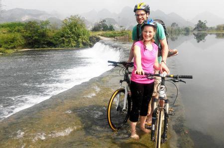 Guilin Mountain Bike Tour to Huajiang River and Countryside