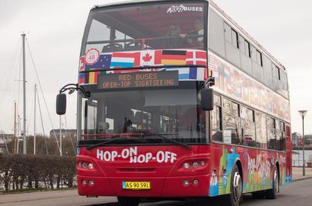 Copenhagen Red Bus 24h Hop-On Hop-Off Ticket