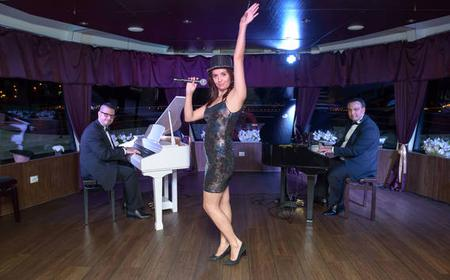 Budapest: 3-Hour Dinner Cruise and Piano Battle Show