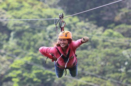 100% Adventure Park Combo:  Zipline, Superman and Mega Tarzan Tour in Monteverde