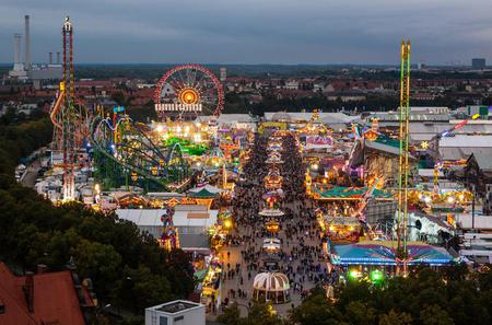 Small-Group Munich City and Oktoberfest Tour Including Reserved Oktoberfest Tent Table