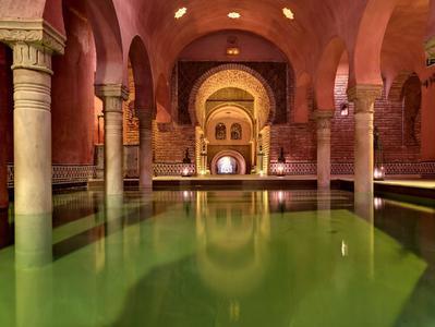 Granada Arabic Baths with Optional Massage
