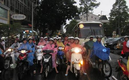 Hanoi By Night 3-Hour Tour by Motorbike