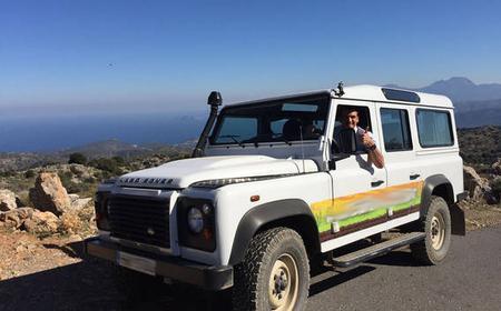 Crete: Land Rover Safari Through the Plateaus