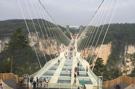 Private Day Trip to Zhangjiajie Glass Bridge and Baofeng Lake