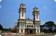 Cao Dai Temple and Cu Chi Tunnels Combination Day Tour