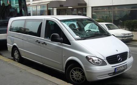 Minibus Transfer Vienna to Budapest or Vice Versa