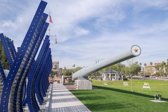 USS Arizona Memorial at the Arizona State Capitol