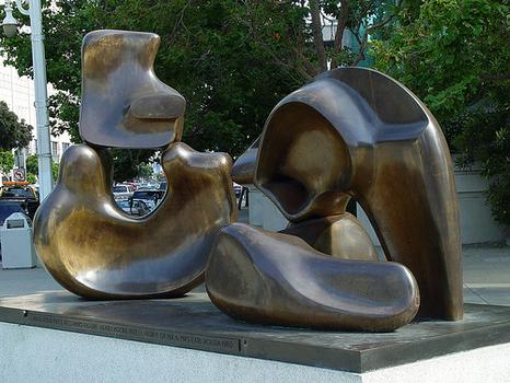 Large Four Piece Reclining Figure