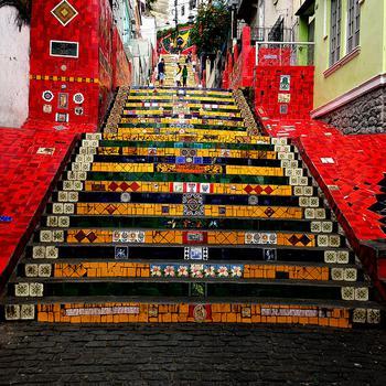 Selarón Staircase