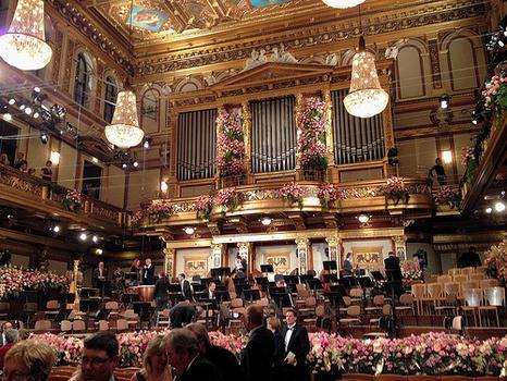 Concert Hall Wiener Musikverein