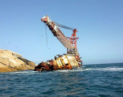 Boss 400 Shipwreck