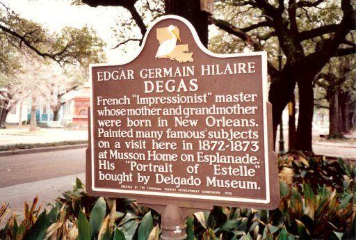 Degas House Historic Home Courtyard and Inn
