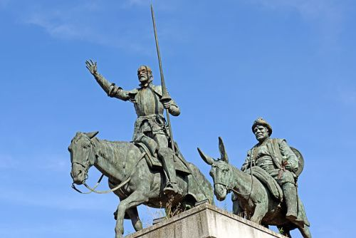 Don Quichotte et Sancho Panza