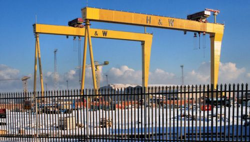Samson and Goliath Cranes
