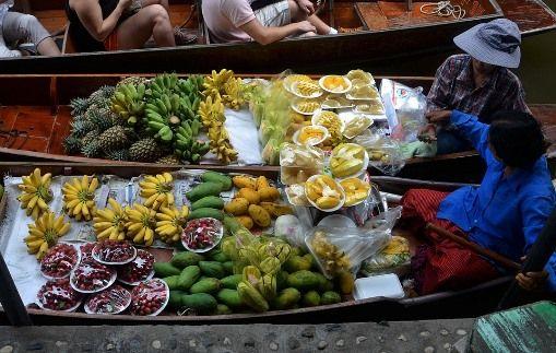 Wat Seangsiritham Floating Market