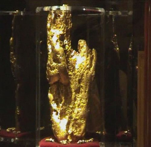 World's Largest Golden Nugget at Golden Nugget Hotel
